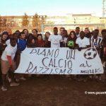 Mononoke e migranti per la partita antirazzista, si replica il 17 febbraio