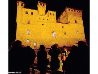 lluminazione e progetti nuovi al castello di Grinzane Cavour