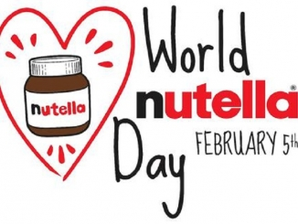 Il 5 febbraio sarà la giornata mondiale della Nutella