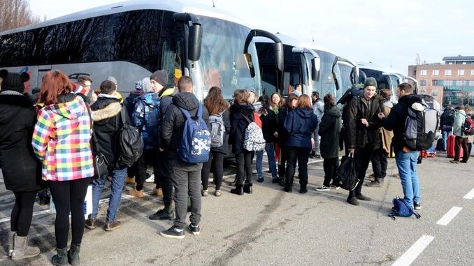 Viaggio della memoria: duecento giovani albesi sono partiti verso Auschwitz