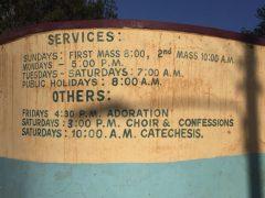 Il racconto del quinto giorno del viaggio pastorale del Vescovo in Kenya 10