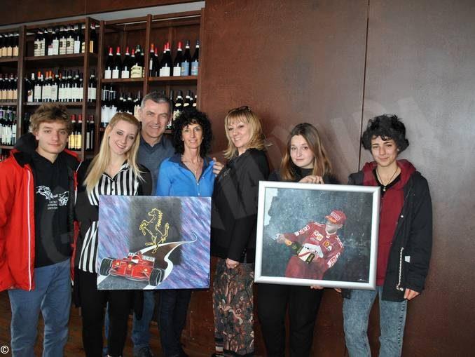 Etichette di vino firmate da giovani artisti 1