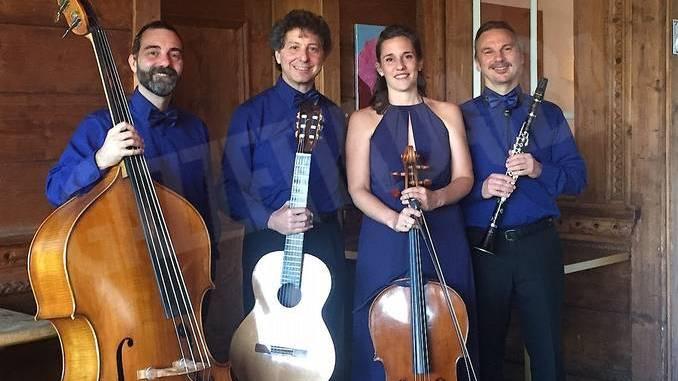 """Lavernier ad Alba, il Cuartet a Bra grazie a """"Bacco&Orfeo"""""""