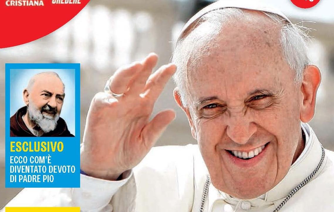Cover Speciale Il volto inedito di Francesco