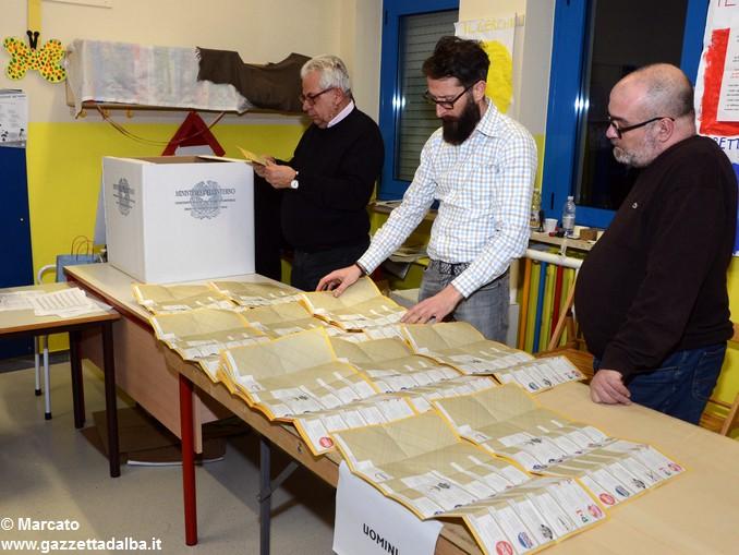 Elezioni 2018 Scrutini scuola fratell Ambrogio 1