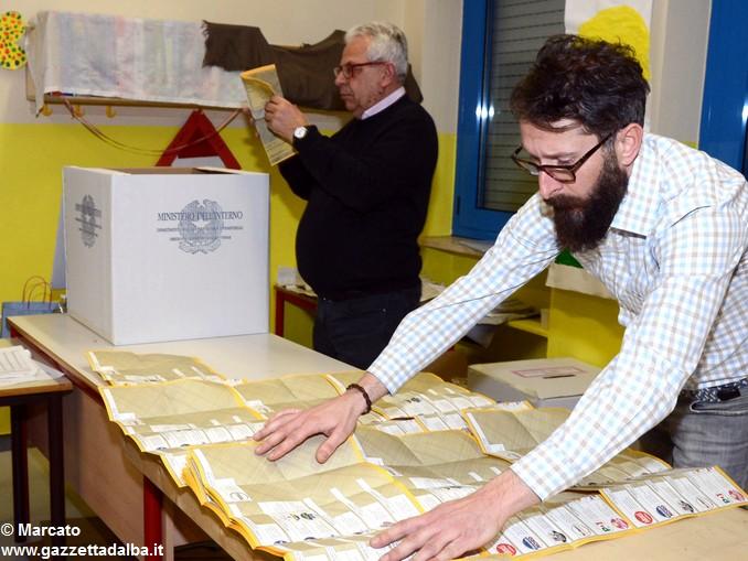 Elezioni 2018 Scrutinii scuola fratelli Ambrogio 3