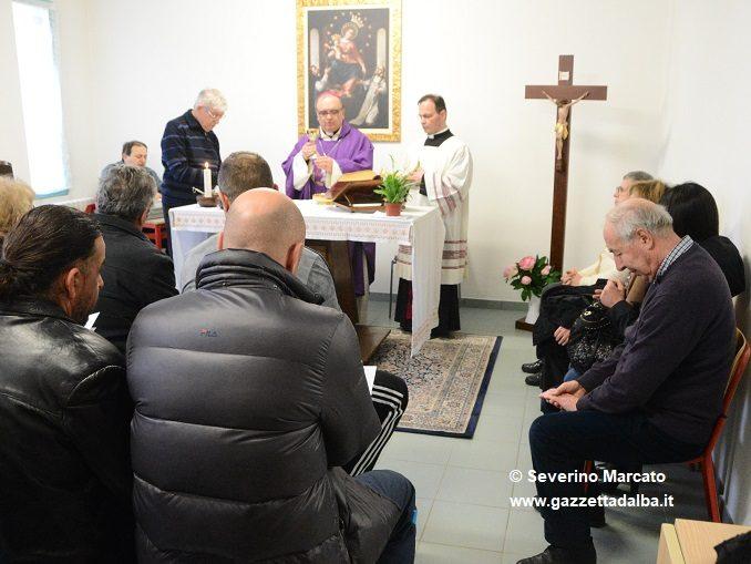Il Vescovo Brunetti ha celebrato la Messa nel carcere di Alba 1