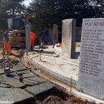 Sono iniziati i lavori alla croce luminosa e al santuario dei Piloni di Montà