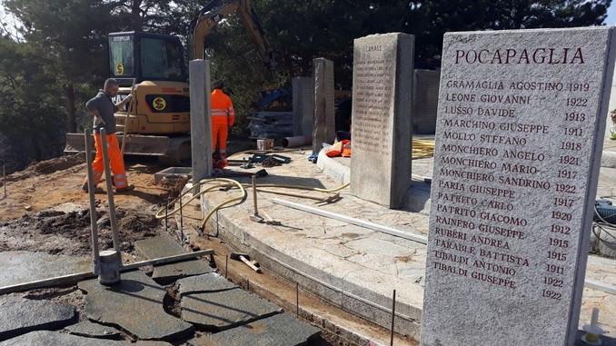 Sono iniziati i lavori alla croce luminosa e al santuario dei Piloni di Montà 5