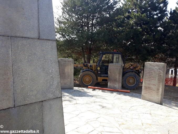 Montà lavori al santuario dei Piloni