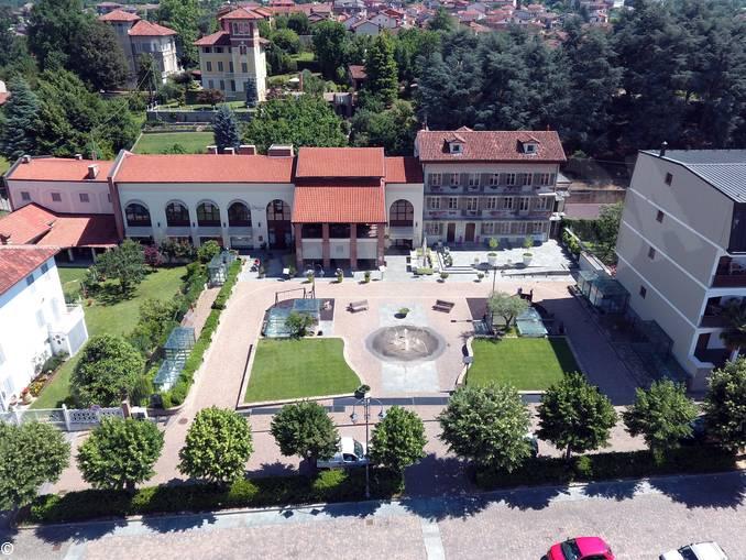 Montà piazza Vittorio dove ci sarà ingresso museo del tartufo (3)
