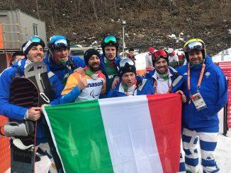 Paolo Priolo, snowboarder di Monteu, ottavo ai Giochi paralimpici