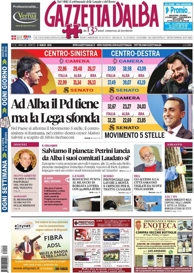 La copertina di Gazzetta in edicola martedì 6 marzo