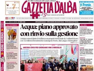 La copertina di Gazzetta in edicola martedì 13 marzo