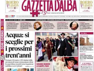 La copertina di Gazzetta in edicola martedì 27 marzo