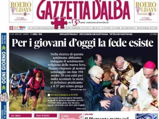 La copertina di Gazzetta in edicola sabato 31 marzo