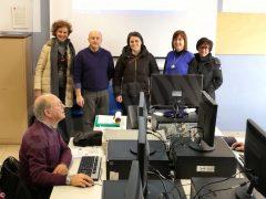 Partiti i corsi di computer per gli  anziani con una grande adesione 1