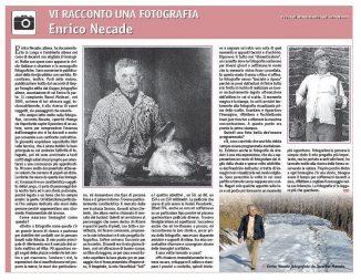 È morto Enrico Necade, artista della fotografia