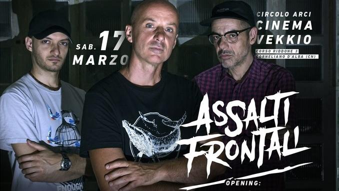 Sabato 17 marzo il rap di Assalti frontali torna al Cinema vekkio