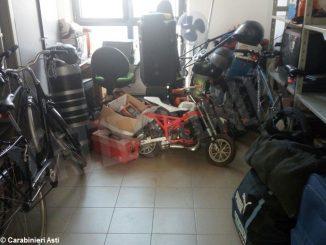 Scoperto ad Asti un negozio clandestino di merce rubata e falsa