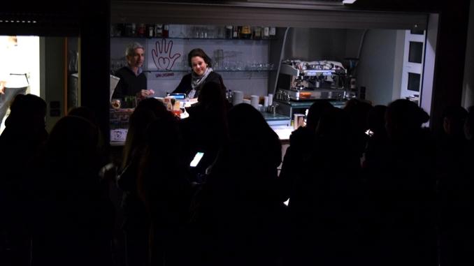 Un'emozionante cena al buio per gli studenti dell'istituto Piera Cillario 3