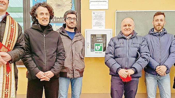 Cossano Belbo ha due defibrillatori e sessanta operatori abilitati
