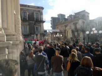 Anche Marco Minniti ai funerali del carabiniere Giorgio Privitera