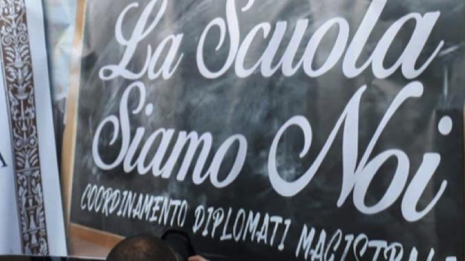 Indetto per venerdì 23 marzo lo sciopero degli insegnanti diplomati