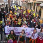 """Marzo donna: grande successo per la marcia """"Non solo mimose"""""""
