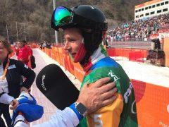 Paolo Priolo, snowboarder di Monteu, ottavo ai Giochi paralimpici 2