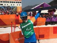 Paolo Priolo, snowboarder di Monteu, ottavo ai Giochi paralimpici 3