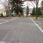 Sulla statale 231 a Piana Biglini è stato aperto l'atteso parcheggio