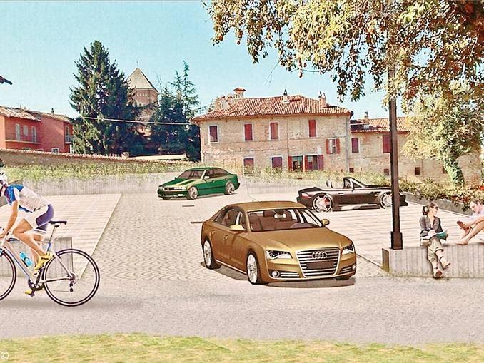 Verduno: nuovi posti auto nelle vicinanze del centro storico