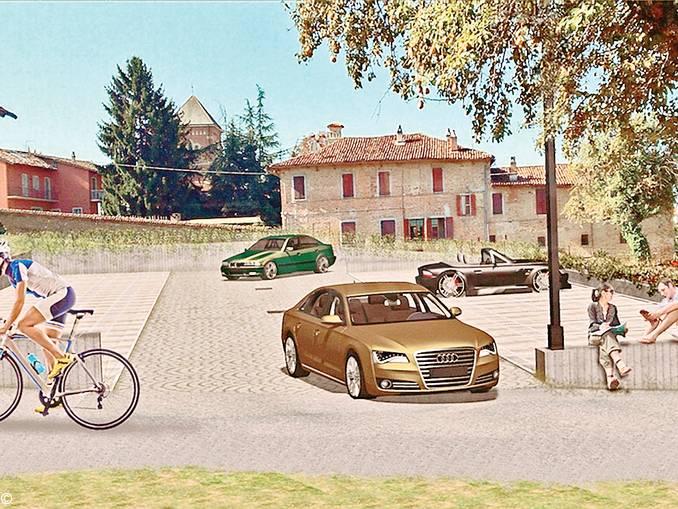 parcheggio verduno