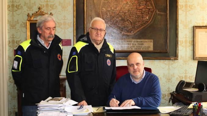 Alba: concessi in comodato d'uso due locali al Coordinamento territoriale volontari di protezione civile di Cuneo