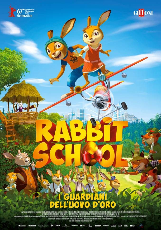 Da Giffoni al cinema Galateri di Cherasco arriva Rabbit school - I guardiani dell'uovo d'oro