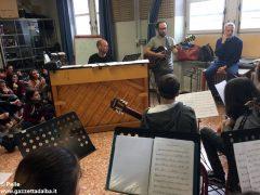 Ospite speciale alla media Pertini: il pianista danese Søren Bebe 12