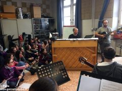Ospite speciale alla media Pertini: il pianista danese Søren Bebe 13