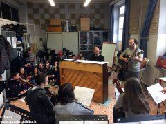 Ospite speciale alla media Pertini: il pianista danese Søren Bebe 14