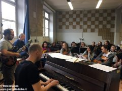 Ospite speciale alla media Pertini: il pianista danese Søren Bebe 1