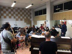 Ospite speciale alla media Pertini: il pianista danese Søren Bebe 4