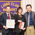 I Lions donano una Lim a una scuola media braidese