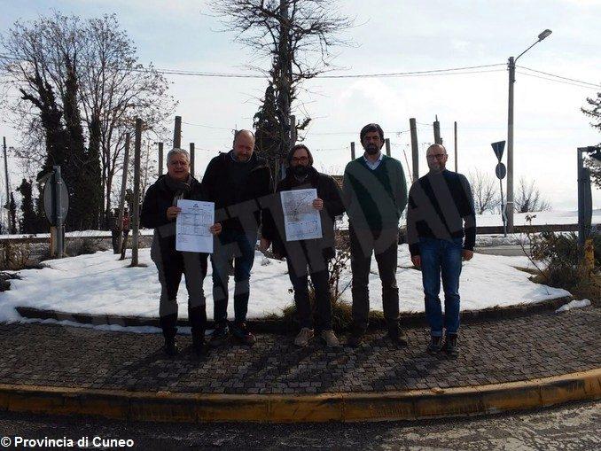 Sopralluogo della Provincia lungo le strade del Giro d'Italia