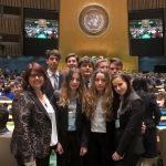 Studenti del Giolitti-Gandino di Bra in visita alle Nazioni unite