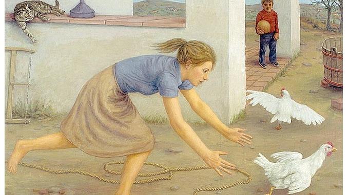 La realtà immaginata nella pittura di Carlo Terzolo