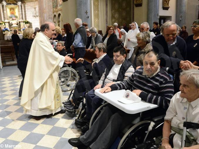 Castiglione Tinella pellegrinaggio Unitalsi e Messa (1)