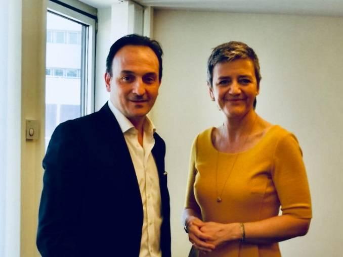 """Vestager: """"Entro il 15 maggio il via libera al cross financing per l'Asti-Cuneo"""""""