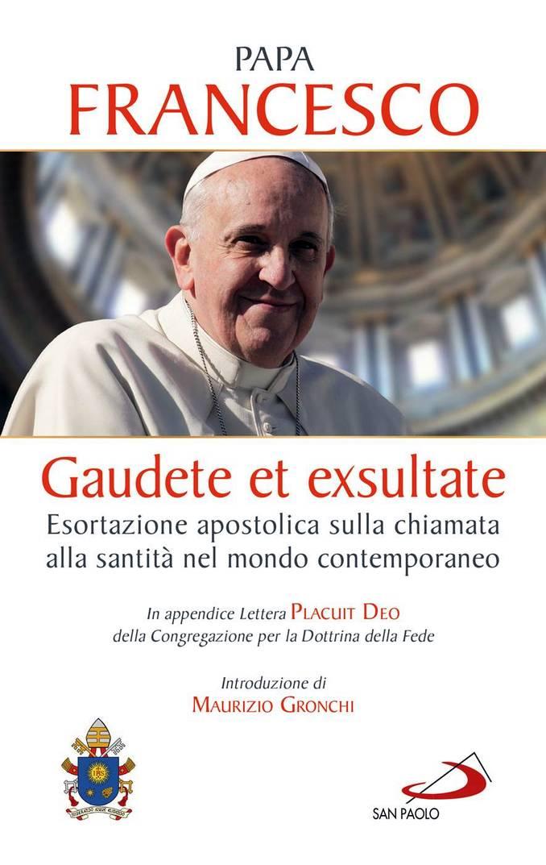 Cover Gaudete et exsultate_Edizione speciale Gruppo Editoriale San Paolo