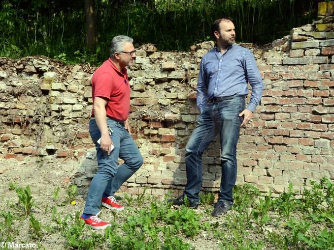 Govone Castello muro crollato (2)