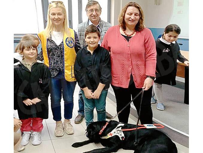 Come è migliorata la vita di Renata  grazie al supporto del suo cane-guida
